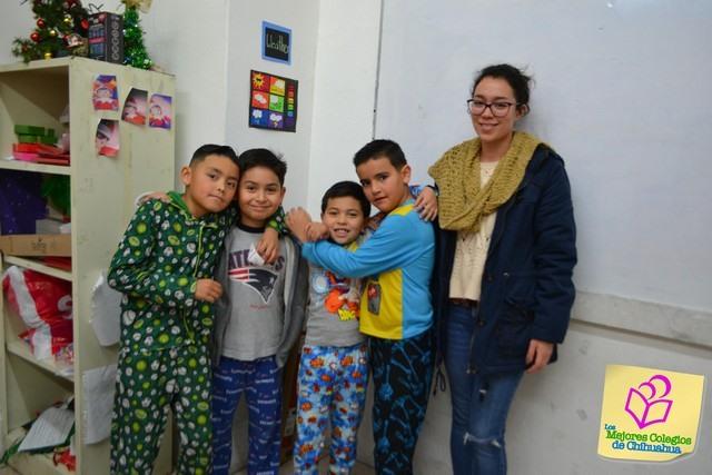 Día de cuentos y pijamas. Colegio DOZAL Bilingüe