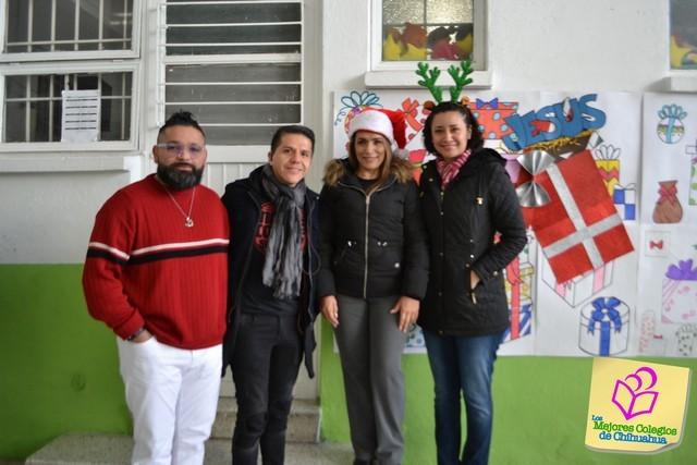 Festejo Navideño. Colegio PALMORE