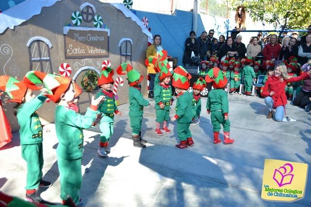 Festival Navideño. Gpos. 1o. Centro Infantil Bilingüe