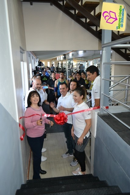 Inauguración Ampliación Área de Pesas. Deportivo LINCE