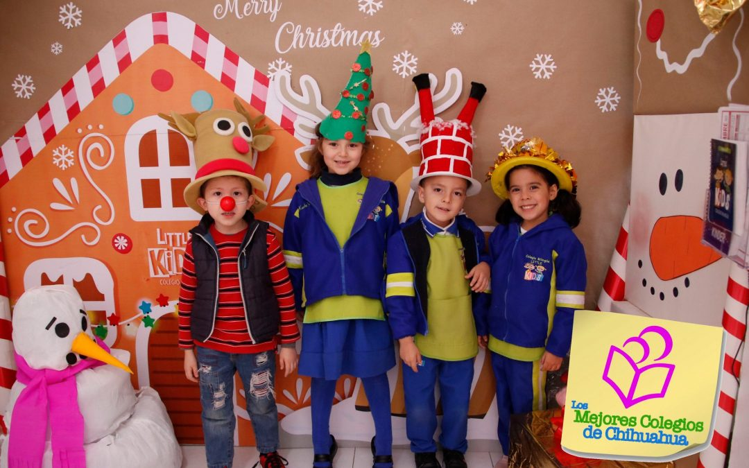 SOMBRERO NAVIDEÑO Y PIJAMAS LITTLE KIDS