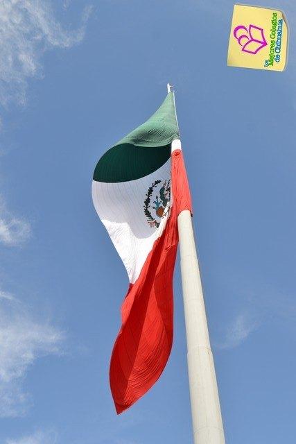 Saludo Especial a la Bandera. Jardin de Niños ARCOIRIS