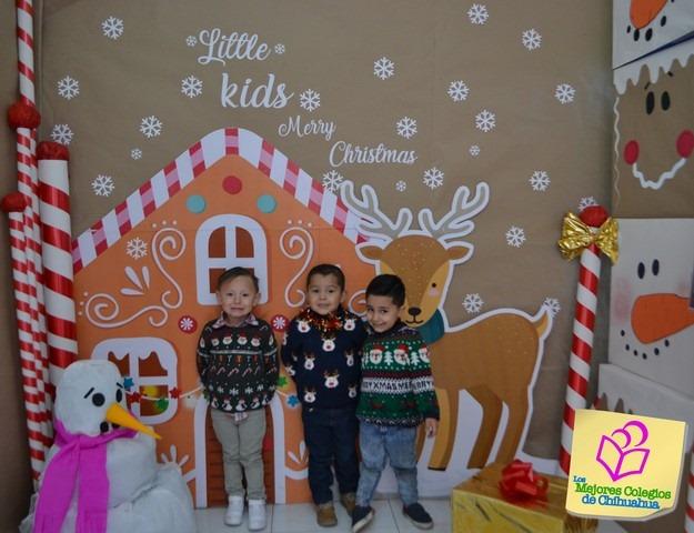 Suéteres Navideños. Colegio Bilingüe LITTLE KIDS.