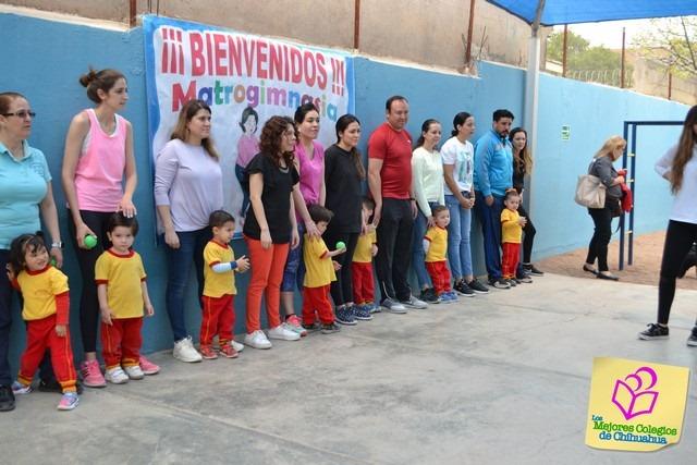 Matrogimnasia Gpo. Maternal Centro Infantil Bilingüe.